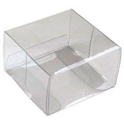 Skaidri PVC dėžutė, 1vnt