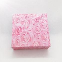 Dėžutė ROSES 8x8x3cm, 1vnt