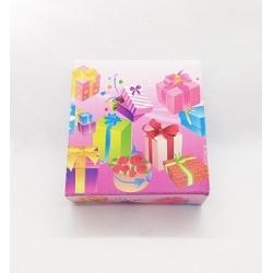 Dėžutė BIRTHDAY 8x8x3cm, 1vnt