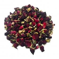 Raudonų rožių butonai, 10g